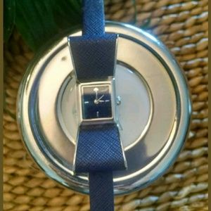 Kate Spade Kenmare Bow Navy Watch